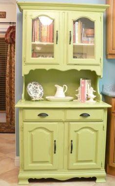 kitchen hutches. Kitchen Hutches  Home Sweet Inspiration My Kitchen Hutch Bright Green Lime Pinterest Vintage