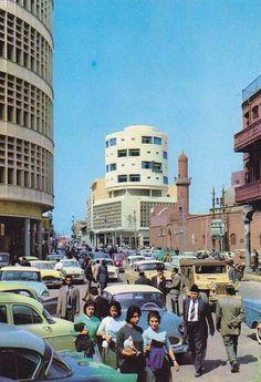 صورة من بغداد في الماضي القريب في الستينات ومن منطقة الشورجة في الرصافة