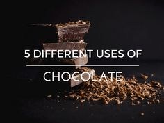 I don't even know who to thank for chocolate, but what or whoever you are, thank you! Chocolate's not only super-tasty, it can boast a superfood status as well. Most people know and use chocolate t…