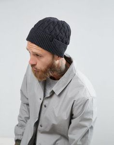26ed8404de766 Selected Homme Beanie In Grey. AsosSimple DesignsFashion OnlineWinter HatsChef  ...