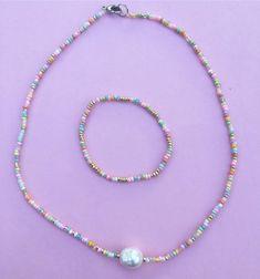 Seed Bead Jewelry, Pearl Jewelry, Diy Jewelry, Gold Jewelry, Beaded Jewelry, Jewelery, Jewelry Accessories, Handmade Jewelry, Jewelry Making