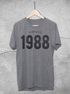 b3cf6f300 This design features the Vintage 1988 graphic printed on a soft