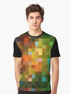 """Pixled"" Graphic T-Shirt By wowarts 