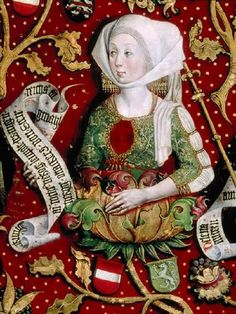 It's About Time: 1489-92 Women of the Babenberg Family Tree (Babenberger Stammbaum)