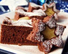 Aj jednoduchý koláč má svoje čaro ▶ http://ywettrecepty.blogspot.sk/2012/11/kakaovy-kolac-s-jablkami.html
