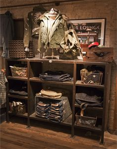 We are proud to have our STORE FRONT photos featured in the Denim & Supply…