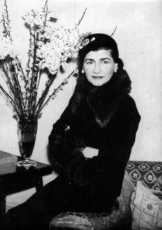dbcb28e4913 French fashion designer Gabrielle  Coco  Chanel at a London hotel
