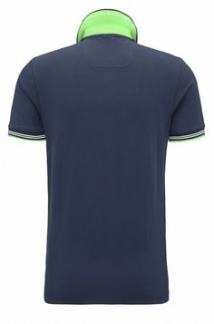 f91b789a8 Slim-fit stretch-cotton polo shirt with contrast tipping