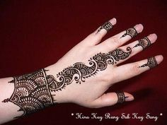 50 Henna Designs For Eid | the perfect line