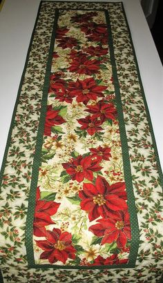 Table Runner And Placemats, Quilted Table Runners, Fabric Christmas Trees, Christmas Decorations, Christmas Coasters, Christmas Placemats, Christmas Sewing, Christmas Quilting, Christmas Buffet