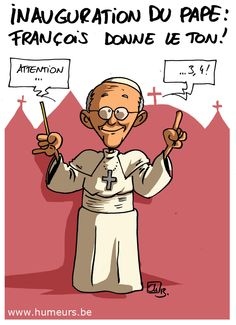 Inauguration du pape François à Rome !