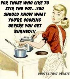 Some people should really learn this lesson! Quotes about drama: For those who like to stir the pot. you should know what you're cooking before you get burned! Great Quotes, Quotes To Live By, Funny Quotes, Inspirational Quotes, Random Quotes, Awesome Quotes, True Quotes, Positive Quotes, Funny Memes