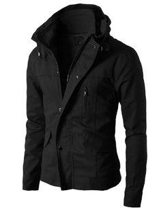 H2H Mens High-neck Field Jackets without Hood BLACK Asia XL (KMOJA024) H2H http://www.amazon.com/dp/B00FJ2CJ58/ref=cm_sw_r_pi_dp_ZvgHub1PDDF2M