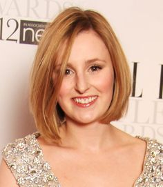 A straight, smooth long bob like Laura Carmichael's shows off your natural hair color in all its glory.  - GoodHousekeeping.com