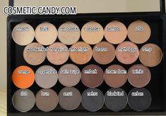 Moving my MAC eyeshadows! MAC Large Eyeshadow Palette Review! (Pic Heavy)