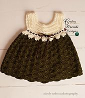 Ravelry: Baby Tay Infant Dress pattern by Kate Wagstaff - $4 USD, sizes range from newborn to 12 mo.