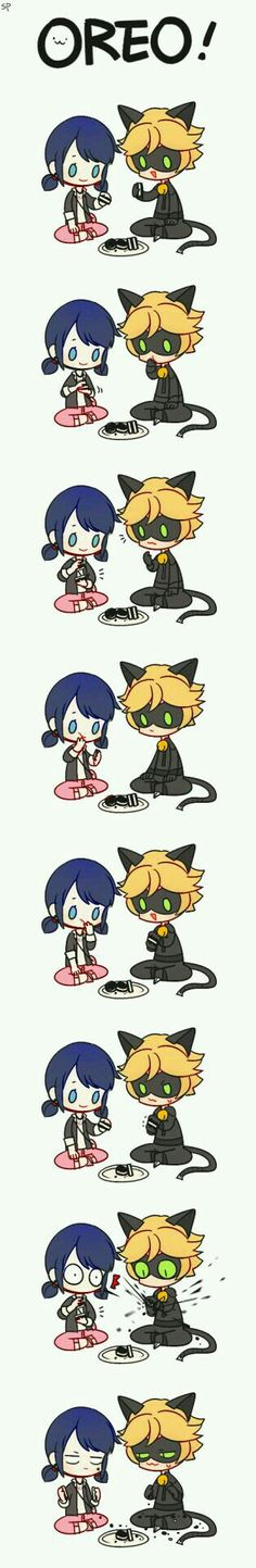 Too cute not to pin!! Marichat!!!