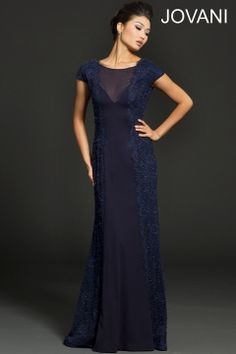 Short sleeve jersey gown 98029