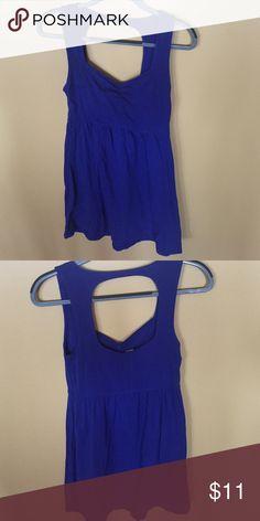 Open back dress Super cute, vibrant color! Forever 21 Dresses