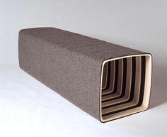Filzbank | Hocker + Bänke | das moebel Ottoman, Benches, Stools, Chairs, Furniture, Simple, Home Decor, Felting, Door Entry