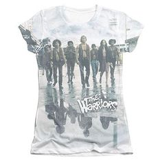 The Warriors Strolling Sublimation Juniors T-Shirt