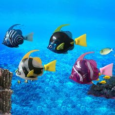 1PCS Robot Electronic Deep Sea Plastic Swimming Fish   Pets Alpha Fish Tank Supplies, Body Size, Deep Sea, Cool Toys, Baby Toys, Robot, Best Gifts, Swimming, Plastic