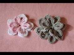 Háčkovaný kvet - YouTube Irish Crochet, Crochet Motif, Diy Crochet, Crochet Flowers, Irish Lace, Crochet Videos, Sewing Crafts, Crochet Earrings, Knitting