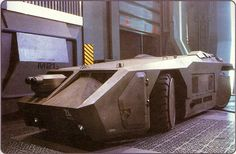 Tank vehicle from the movie 'Aliens'