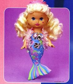 Li'l Miss Mermaid. I remember everything about this toy. I loved mine. It was so fun to watch her change color in the water. I miss my 90's childhood