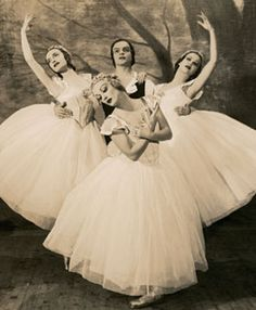 """The Baby Ballerinas were 3 young leading principal dancers of the Ballet Russe de Monte Carlo in the 1930s. They were individually selected by George Balanchine, and deemed the """"Baby Ballerinas"""" by ballet critic Arnold Haskell based upon their age."""