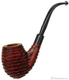 Castello Sea Rock Briar Bent Egg (KKKK) (Pi) Pipes at Smoking Pipes .com