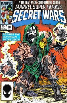 Darth Vader STAR WARS Homage to SECRET WARS #10 Comic Cover — GeekTyrant
