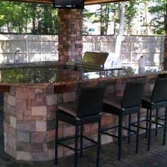 Mission tropical patio on pinterest tropical patio fire bowls and - Tropical outdoor kitchen designs ...