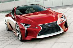 2012年1月のデトロイトモーターショーで初披露されたコンセプトカー「LF-LC」のデザインイメージを市販車に反映させた「レクサスLC」が3月16日に発売されました。 レクサスLCは、今年のデトロイトモーターショーで披露された新型レクサスLSと同様に、「GA-L」プラットフォームを採用。ロングノーズに加えて、
