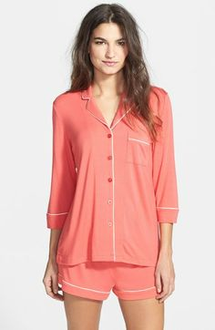 PJ Luxe Modal Blend Short Pajamas | Nordstrom