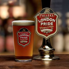 Cheers! Fuller's award-winning London Pride. Brewed just a couple of miles from where I grew up and arguably London's most famous real ale. Delicious and the first tipple I have whenever I return to the UK. Alongside Marston's Pedigree it is the 'other' ale I grew up with!! Could do with a drop now.....!!!