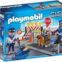 PLAYMOBIL Politiewegversperring - 6924 -  Koppen.com