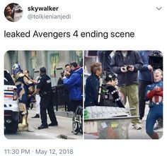 So that's why cap is laughing so hard
