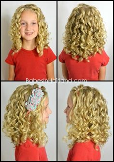 Amazing Curls with Curlformers from BabesInHairland.com #curls #curlformers #hair