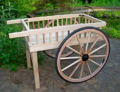 flower+carts+on+wheels | Custom Wagon Wheels | Wooden Vending Carts for Sale