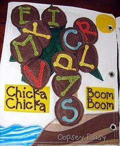 chicka chicka, boom boom, book idea, chicka boom, oopsey daisi
