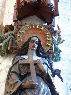 Sainte RITA de CASCIA, veuve, religieuse augustine et mystique God Jesus, Jesus Christ, Prophets In Islam, St Rita Of Cascia, Pope John, 1st Century, Son Of God, Christianity, Catholic