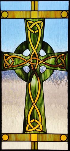 stained glass celtic cross - Google Search