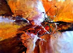 Dan Bunea, living abstract paintings - The secret legacy,  by Dan Bunea,  living abstract paintings,  www.danbunea.ro