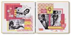 Be Young Stack Pack Girl Scrapbook Layout Idea from Creative Memories, details and instructions: http://projectcenter.creativememories.com/photos/our_newest_project_ideas/be-young-stack-pack-girl-scrapbook-layout-idea.html