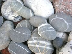 pebbles from denmark and france