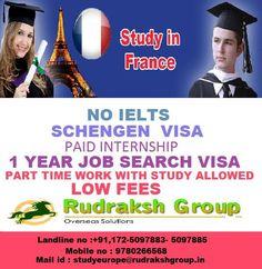 Study visa in France