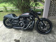 "Harleysite — ""from - Harley Davidson Motorcycles, Custom Motorcycles, Custom Bikes, Cars And Motorcycles, Bobber Motorcycle, Motorcycle Garage, Motorcycle Style, Hd V Rod, Vrod Muscle"