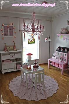 Kristallin hohtoa -blog: lastenhuone, kids room, girls room