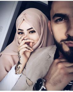 Find images and videos about couple, coiled up and islam on We Heart It - the app to get lost in what you love. Cute Muslim Couples, Romantic Couples, Wedding Couples, Cute Couples, Hijab Fashion Inspiration, Style Inspiration, Real Love Spells, Whatsapp Marketing, Muslim Family